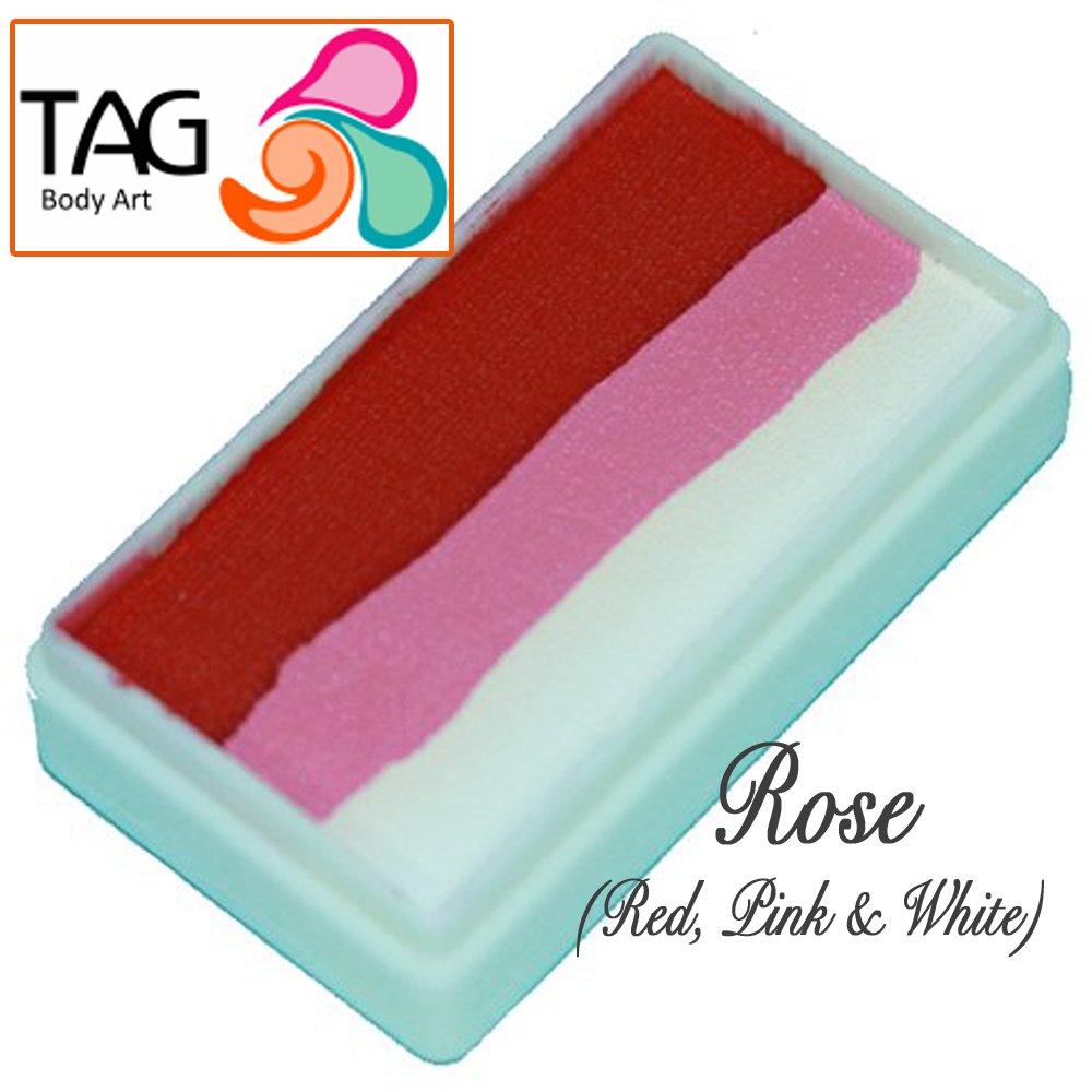 TAG Face Paint 1-Stroke Split Cake - Rose (30g) TAG Body Art 1STR30