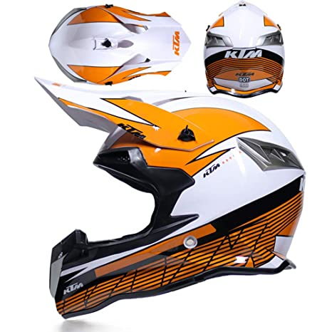 CFYBAO Casco Adulto Motocicleta Todoterreno Casco Fox Personalidad Creativa  Four Seasons Casco Equitación Racing Casco Full 78f402ca645