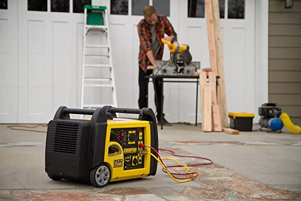 Champion 3100 is good for powering different kinds of tools