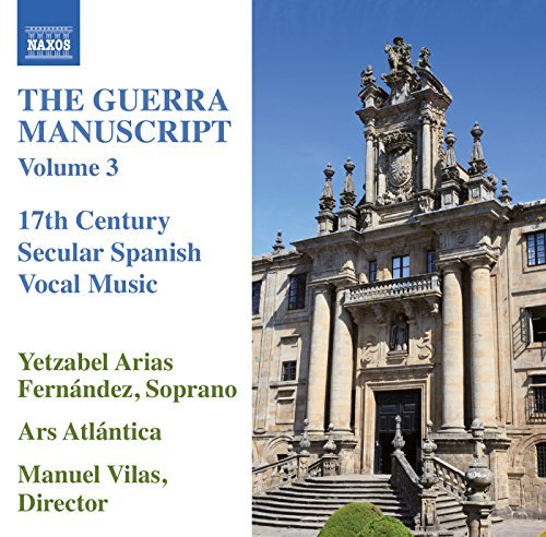 Guerra Manuscript Volume 3 by Yetzabel Arias Fern??ndez : Yetzabel Arias Fern??ndez, Ars Atl??ntica: Amazon.es: Música
