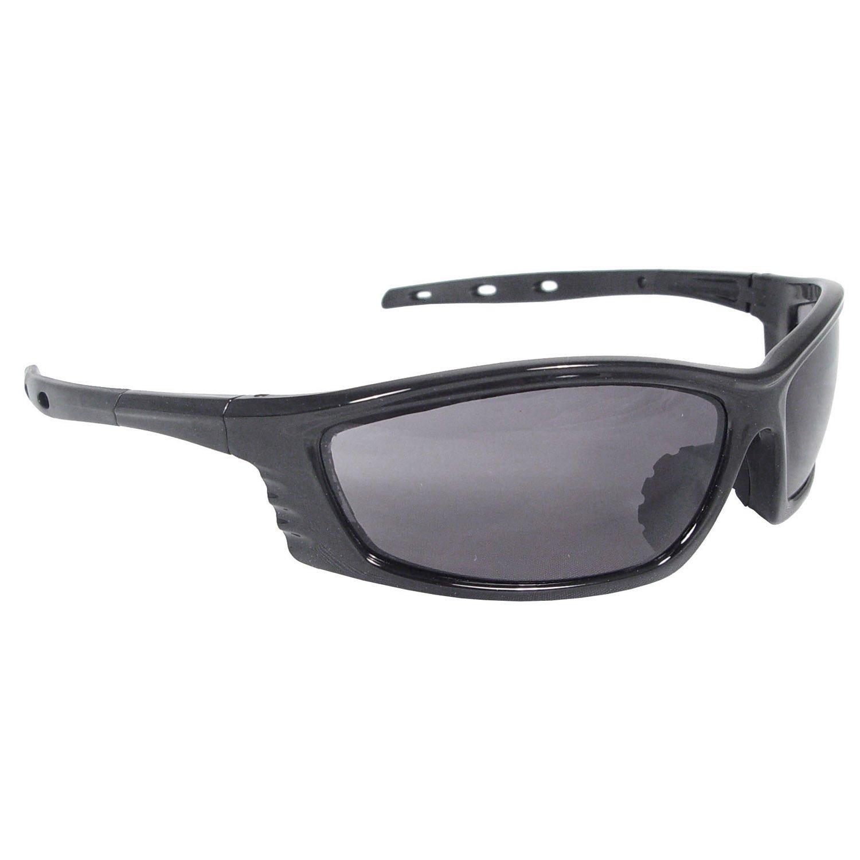 Black Frame Smoke Lens Radians CS1-20 Chaos Protective Safety Glasses
