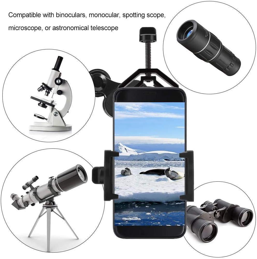 Universal Handy Adapter Halterung f/ür Fernglas Monokulare Spektiv Teleskop f/ür iPhone Sony Samsung Moto Mein HERZ Universal Handy Adapter Mount Kompatibel Fernglas Monokular Spektiv Teleskop
