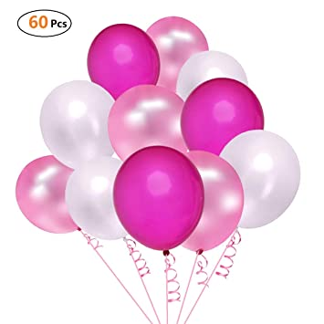 morefun party balloons 12 inch assorted colored balloon latex