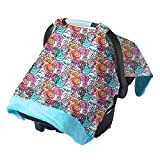 Itzy Ritzy Cozy Happens Infant Car Seat Canopy & Tummy Time Mat (Watercolor