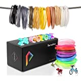 Pxmalion PLA 3D Pen Filament Refills 960 Feet 24 Colors 40 Feet Each 1.75mm PLA Filament Pack Net Weight 980g Includes Stencils eBook
