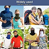 6 Pieces Summer Face Cover UV Protection Neck