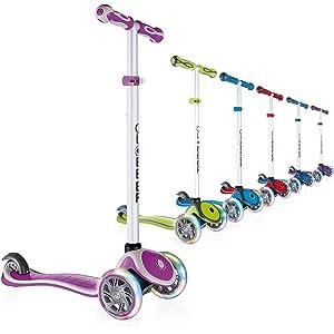 Amazon.com: Globber Elite patinete de 3 ruedas plegable ...