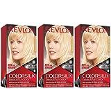 Revlon Colorsilk Beautiful Color, Ultra Light Sun Blonde, 3 Count