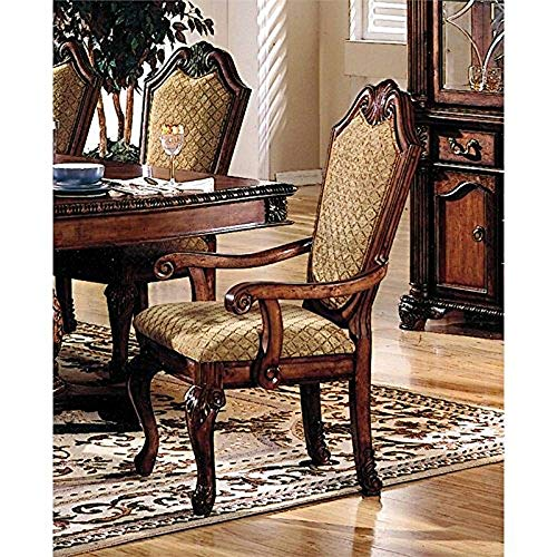 Acme Chateau De Ville Dining Side Chair in Cherry (Set of 2) ()
