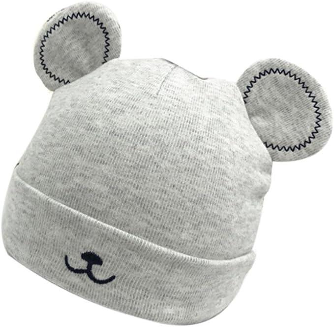 Sombrero Caliente bebé niño niñas Sombrero de Gorro de Invierno Gorro de Felpa de Orejas Lindo Ropa Bebe by Xinantime (Gris): Amazon.es: Hogar