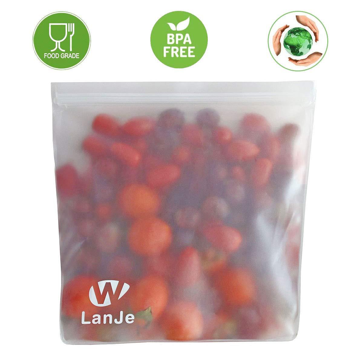 Amazon.com: LanJe - Bolsas de almacenamiento reutilizables ...