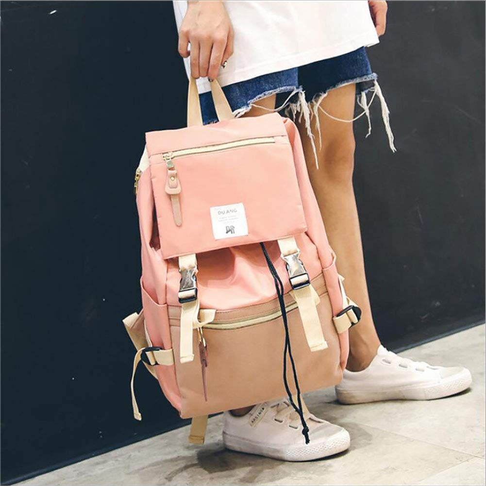 Xinyuan Womens Nylon Backpack Ladies Fashion Leisure Travel Bag to Learn Shopping Outdoor