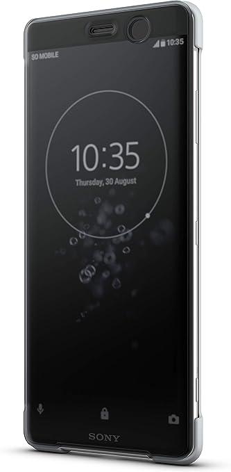 Sony Funda Protectora con función Soporte/Touch Xperia XZ3: Amazon ...