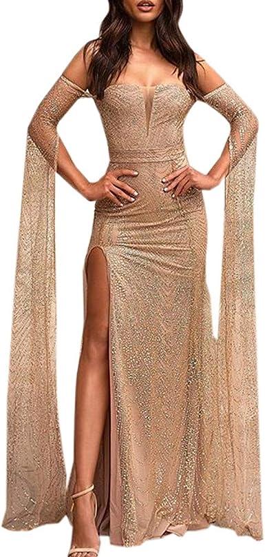 Robe Femme Chic Longue Robe De Soirée pour