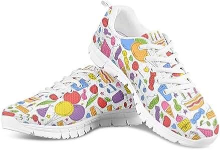 POLERO Zapatillas de Deporte para Mujer, Zapatillas de Deporte, Zapatillas de Entrenamiento, Running, Fitness, Transpirables, para Ocio, 35-48 EU, Color, Talla 35 EU: Amazon.es: Zapatos y complementos