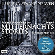 Mitternachtsstories von Edgar Allan Poe (Nur für starke Nerven 4) Hörbuch von Edgar Allan Poe Gesprochen von: Friedrich Schoenfelder, Werner Rundshagen