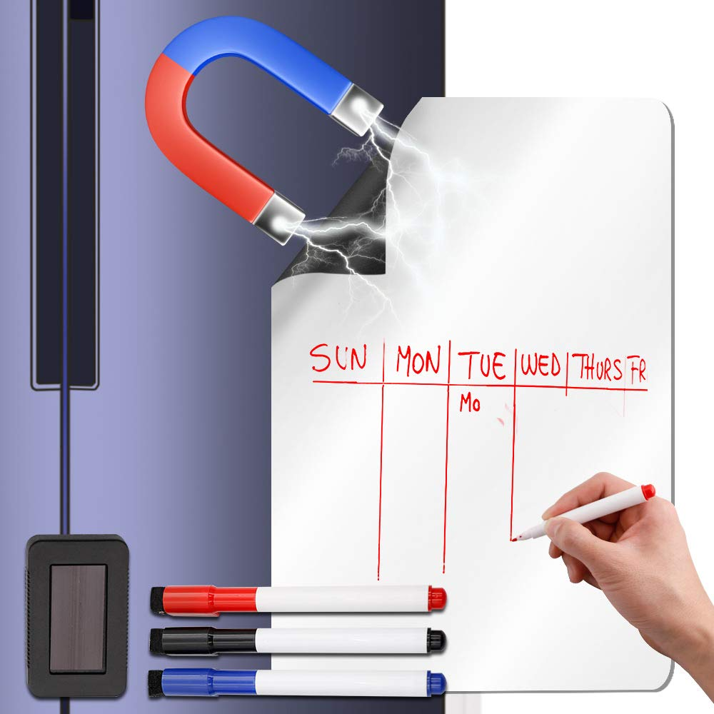photo relating to Printable Whiteboard named : Magnetic Whiteboard for Fridge 19\