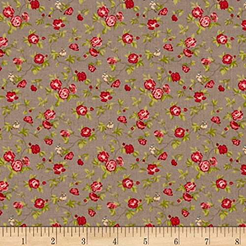 Moda Windermere Prints Songbird Cobblestone Fabric