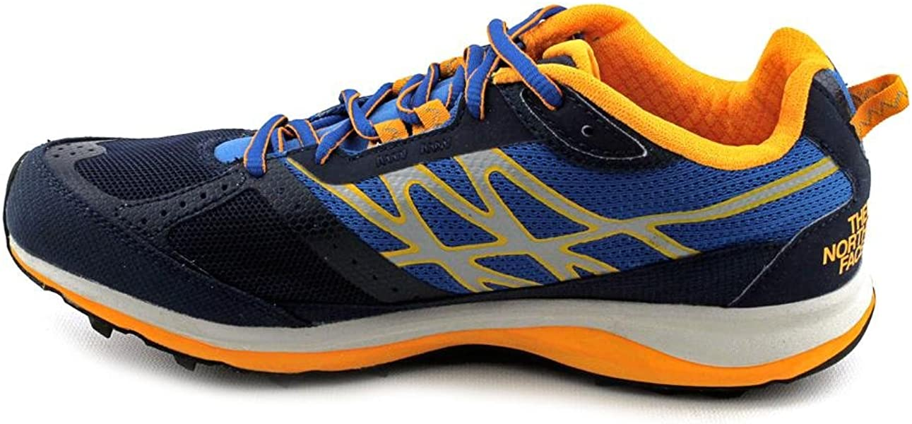 513f395b07d4 The North Face Ultra Guide Trail Running Shoe - Men s Cosmic Blue Koi Orange  13. Back. Double-tap to zoom