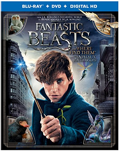 Fantastic Beasts and Where To Find Them (Bilingual) [Blu-Ray + DVD + UV Digital Copy]