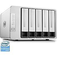 TERRAMASTER F5-420 5 Bay Serveur NAS, Intel Quad Core 2.0GHz 4 Go de RAM Stockage Réseau RAID pour les petites / moyennes entreprises (Sans disque)