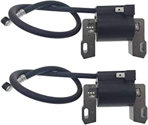 PARTSRUN 2-Pack Ignition Coil Module for Briggs and Stratton 691060 799651 Replace John Deere MIA12346 LG691060 18 22HP Engines,ZF-IG-A00053V