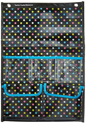Place Hanging Pockets (Chalkboard Brights Place Value Pocket Chart)