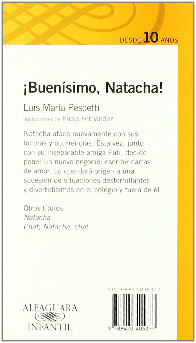 BUENISIMO NATACHA (Infantil Naranja 10 Años): Amazon.es ...