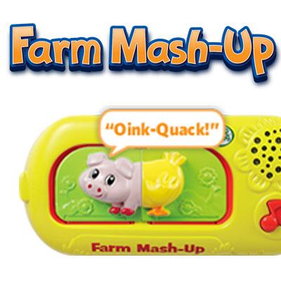Amazon.com: LeapFrog Farm Animal Mash-Up Kit: Toys & Games