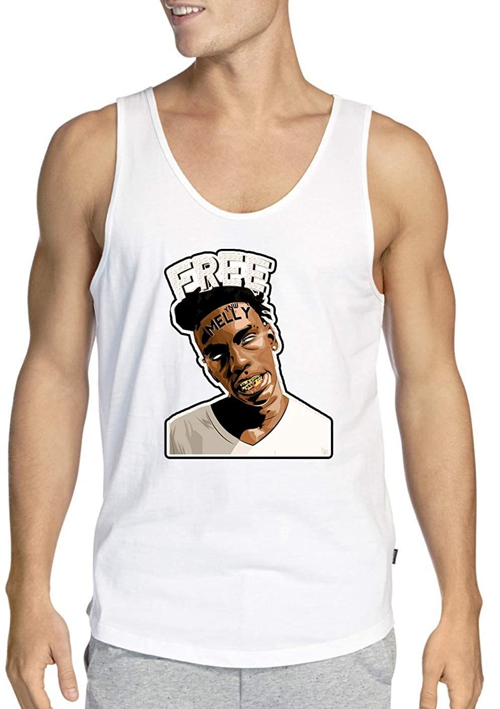 Adult YNW Melly White Tank Top