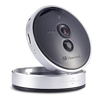 homtrol HD de 720P Cámara de vigilancia de vídeo Baby Monitor Cámara de seguridad interior ip