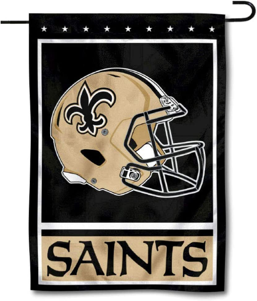 WinCraft New Orleans Saints Decorative Yard Garden Flag