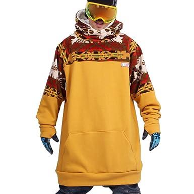 Shootingstar Hombres de Snowboard para esquí Tall sudadera con capucha: Amazon.es: Ropa y accesorios