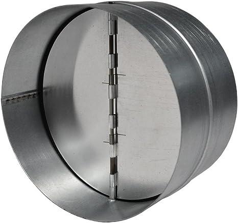 EASYTEC Válvula antirretorno de metal (Ø 150 mm de diámetro: Amazon.es: Grandes electrodomésticos