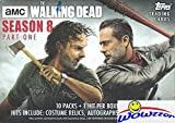 #5: 2018 Topps AMC The Walking Dead Series 8 EXCLUSIVE HUGE Factory Sealed Retail Box with Autograph, Relic, Patch or Sketch Card! Brand New! EVERY PACK includes One Insert & One Parallel! Loaded !