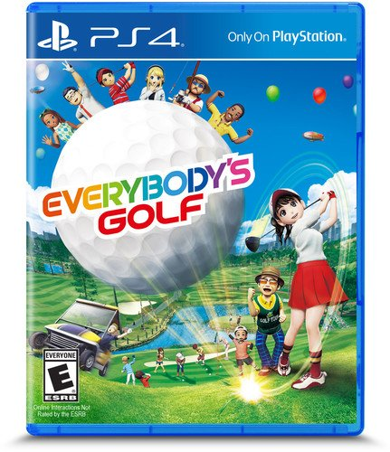 Sit Down Arcade (Everybody's Golf - PlayStation 4)