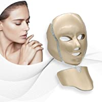 Pro 7Color LED Mask Skin Care Photon Lighttherapy Mask Electric Therapy For Healthy...