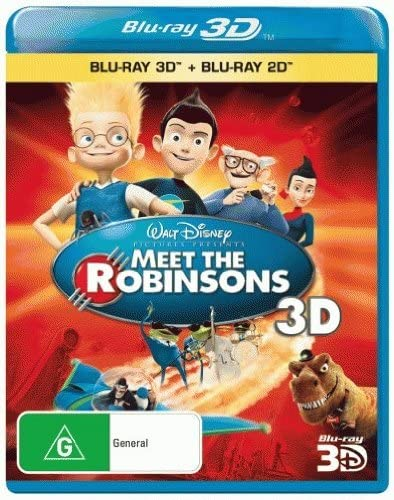 Meet the Robinsons (3D Blu-ray/Blu-ray) Blu-Ray