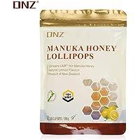 【直降秒杀】DNZ 麦卢卡UMF10+蜂蜜柠檬糖 儿童棒棒糖 便携糖果(新西兰进口)