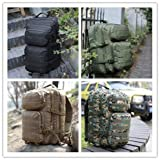 WIDEWAY Military Tactical Backpack 50L Survival Gear Backpacking Large Hydration Molle Bug Out Bag 3 Day Assault Pack Rucksacks Functional Daypack for Outdoor Travel Hunting Camping Hiking Shooting