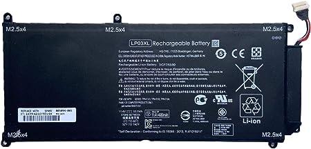 Amazon Com Boweirui Replacement Laptop Battery For Hp Lp03xl 11 4v 55 5wh 4680mah Envy M6 P M6 P113dx M6 P013dx Envy 15t Ae 15t Ae000 Tpn C121 Tpn C122 Tpn C124 Series Hstnn Db6x 805094 005 804072 241 Computers Accessories