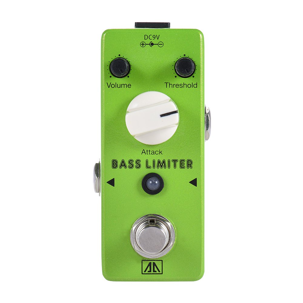 Amazon.com: ammoon AROMA ABL-5 Mini Bass Limiter Electric Bass Guitar Effect Pedal Aluminum Alloy Body True Bypass: Musical Instruments