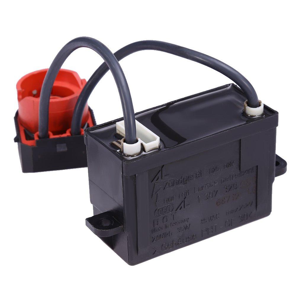 QKPARTS Xenon Igniter HID Bulb Socket Plug for BMW E46 325i 330i 330ci 325ci M3 by QKPARTS