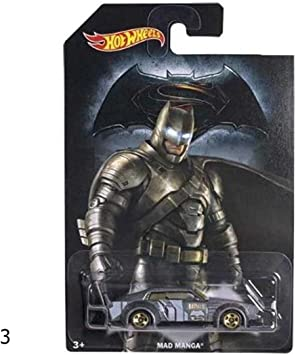 Marvel Dc Batman Vs Superman macchinine Mattel Hot Wheels Deco Car Djl47