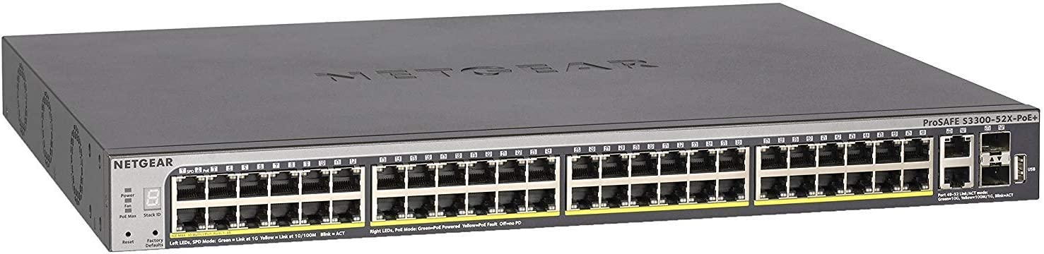 Netgear Gs752txp 52 Port Gigabit Computer Zubehör