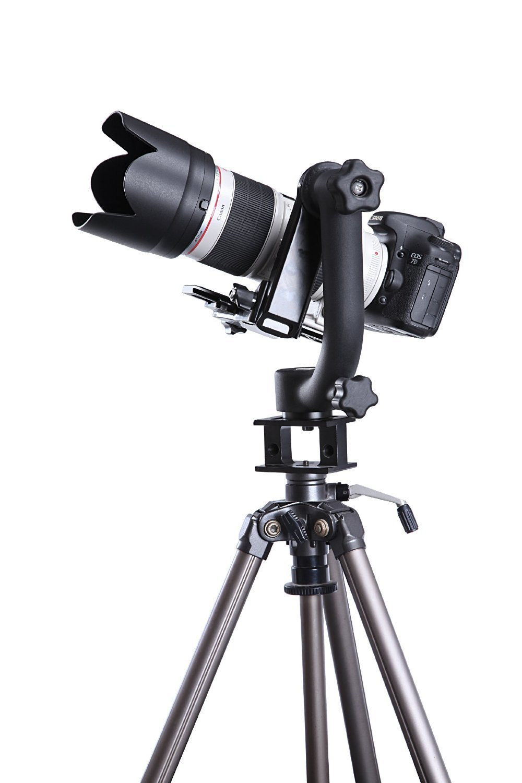 Sevenoak SK-GH01 Heavy-duty Aluminum Gimbal Tripod Head for DSLR Cameras and Telephoto Camera Lenses by Sevenoak