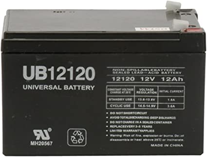 POWERSTAR repalcement Battery for RBC4 RBC 4 Battery Pack APC UPS BackUPS Pro 650M 650 BK650 BP650 BE650 UB12120