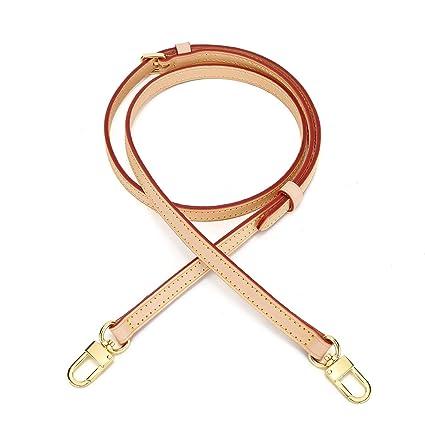 7fc21f8b1e2e Vachetta Leather Adjustable Crossbody Strap for Small Bags Pochette Mini NM  Eva Favorite PM MM Nano Speedy