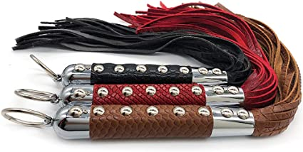 1PC--LEATHER 6/' BULL  WHIP