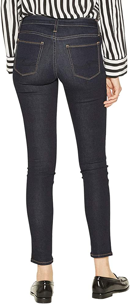 Silver Jeans Co Womens Landree Low Rise Jegging with Destruction
